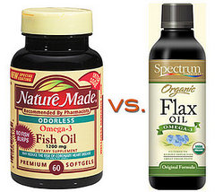 Flaxseed  Fish  on The Watson S  Fish Oil Vs  Flaxseed Supplements  What S Better